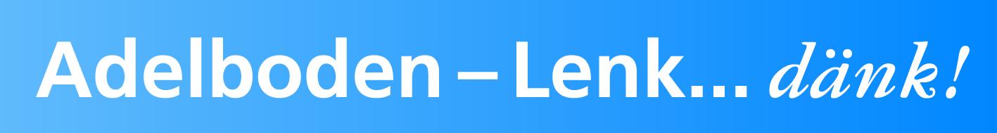 Adelboden-Lenk/Chuenisbärgli-Silleren-Hahnenmoos-Metsch - Logo