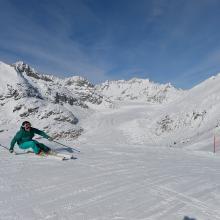 Skifahren Aletsch Arena