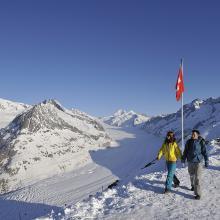 Winterwandern Aletsch Arena